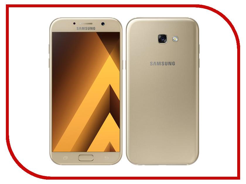 Сотовый телефон Samsung SM-A720F Galaxy A7 (2017) Gold смартфон samsung galaxy a7 2017 black sm a720f