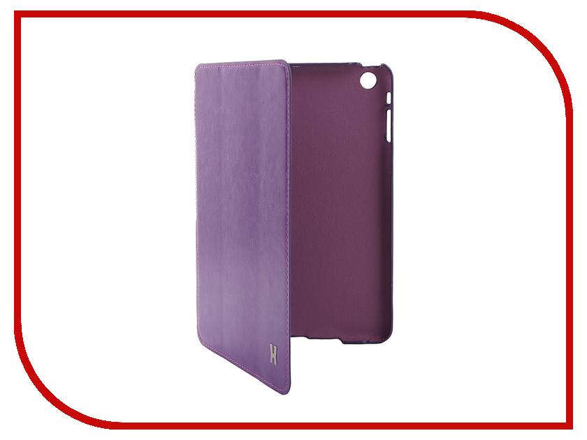 Аксессуар Чехол LuxCase Premium для iPad mini Violet 10357<br>