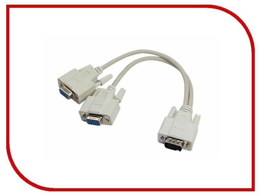 Аксессуар Rexant VGA - 2xVGA Grey 17-6834 сумка furla furla fu003bwaaft8
