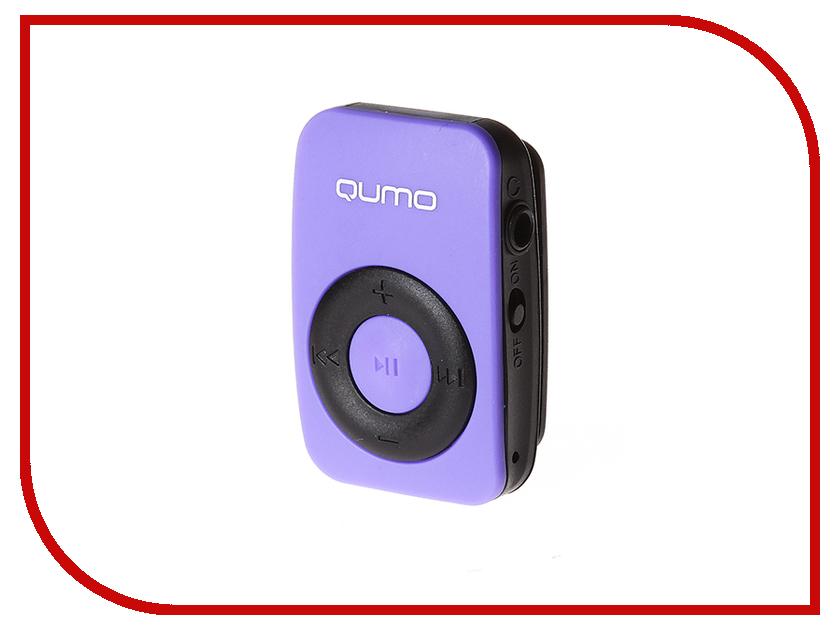 Zakazat.ru: Плеер Qumo Active Deep Violet 21607