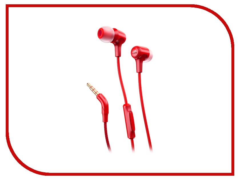 Гарнитура JBL E15 Red JBLE15RED