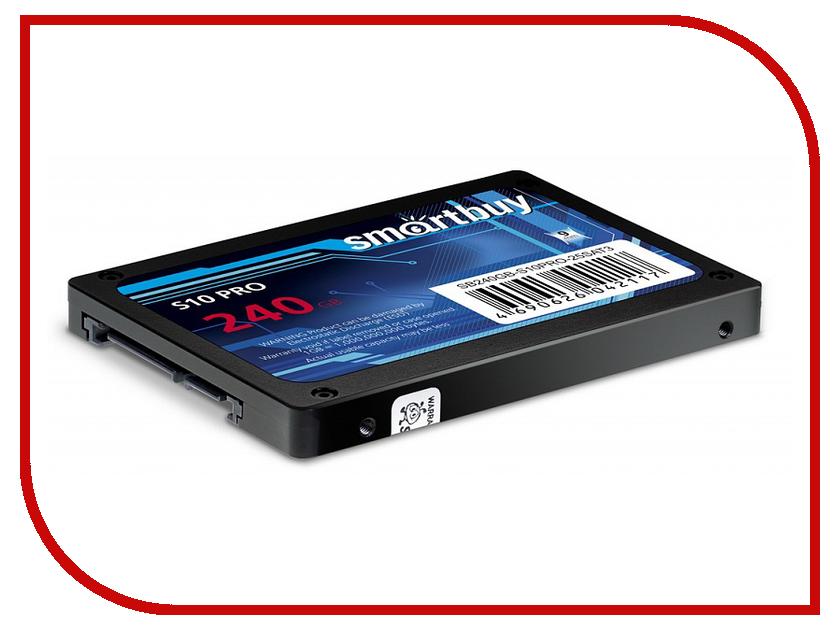 Жесткий диск 240Gb - SmartBuy Enterprise S10 PRO SB240GB-S10PRO-25SAT3 sb128gb lp 25sat3