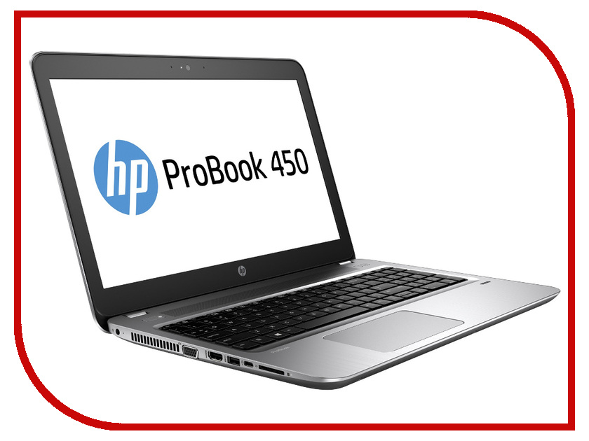Ноутбук HP ProBook 450 G4 Y8A60EA Intel Core i5-7200U 2.5 GHz/4096Mb/500Gb/DVD-RW/Intel HD Graphics/Wi-Fi/Bluetooth/Cam/15.6/1366x768/DOS<br>