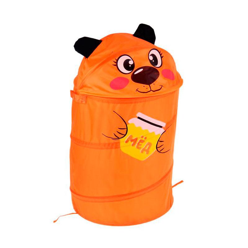 цены на Корзина для игрушек Школа талантов Мишка 1598848  в интернет-магазинах