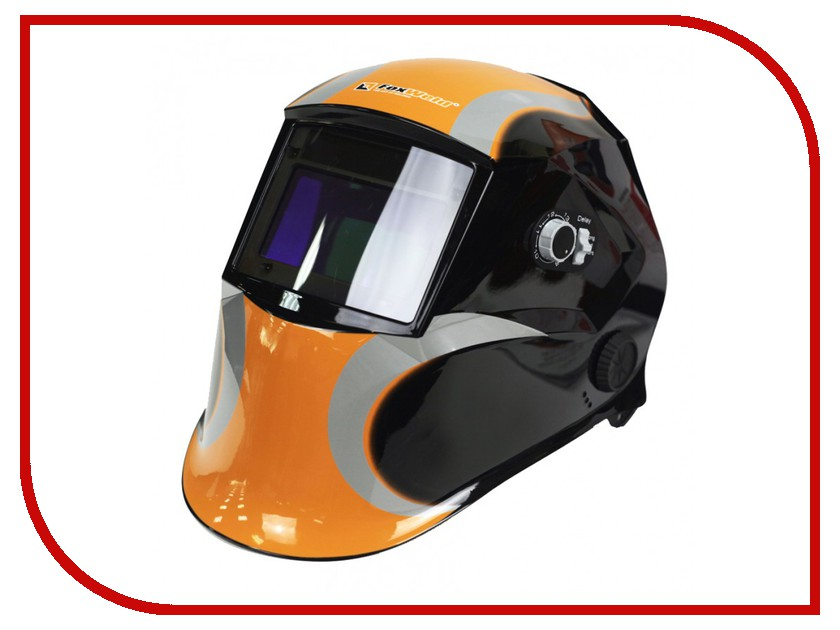 Маска сварщика FoxWeld Космос маска сварщика со стеклом с5 foxweld корунд черная 3389