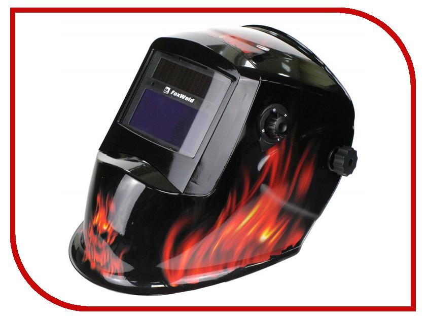 Маска сварщика FoxWeld Корунд-2 Пламя  foxweld корунд 170 мини