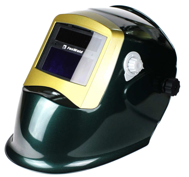 цена на Маска сварщика FoxWeld Корунд-2 Green