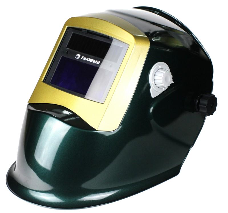 где купить Маска сварщика FoxWeld Корунд-2 Green дешево