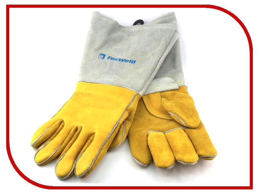 Аксессуар Краги спилковые FoxWeld Защита 10-2750L водоотталкивающие