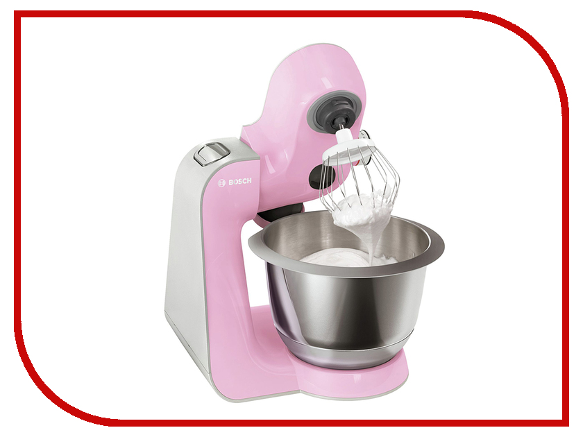 комбайн Bosch MUM 58K20 Pink-Silver