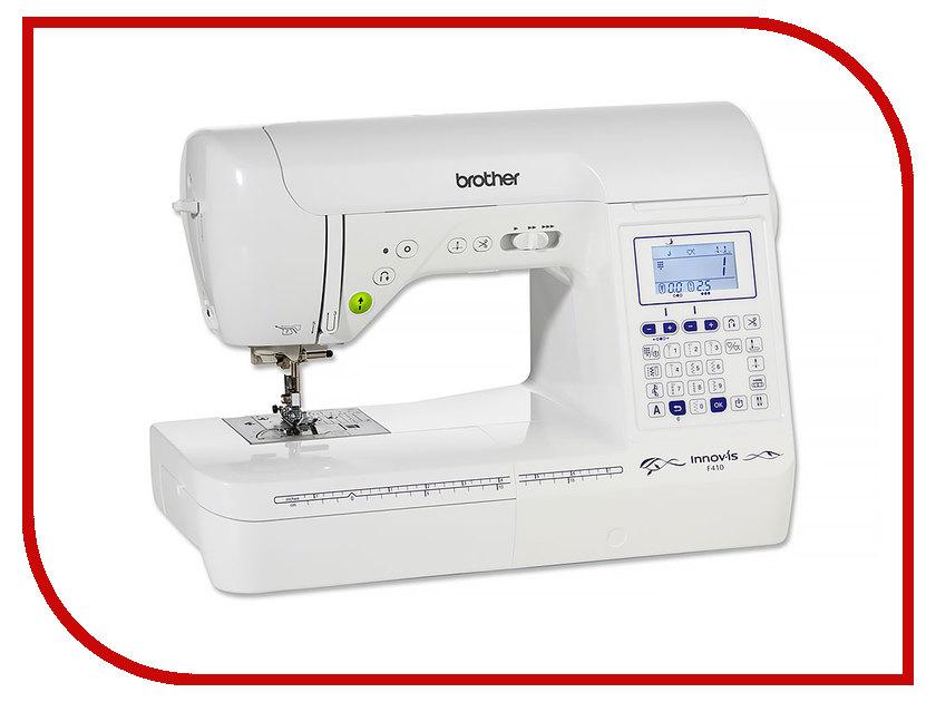 Швейная машинка Brother F410 швейная машинка juki hzl f 300