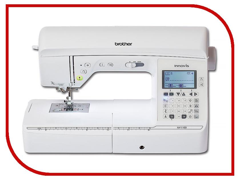 Швейная машинка Brother Innov-is NV1100 швейная машинка astralux 7350 pro series вышивальный блок ems700
