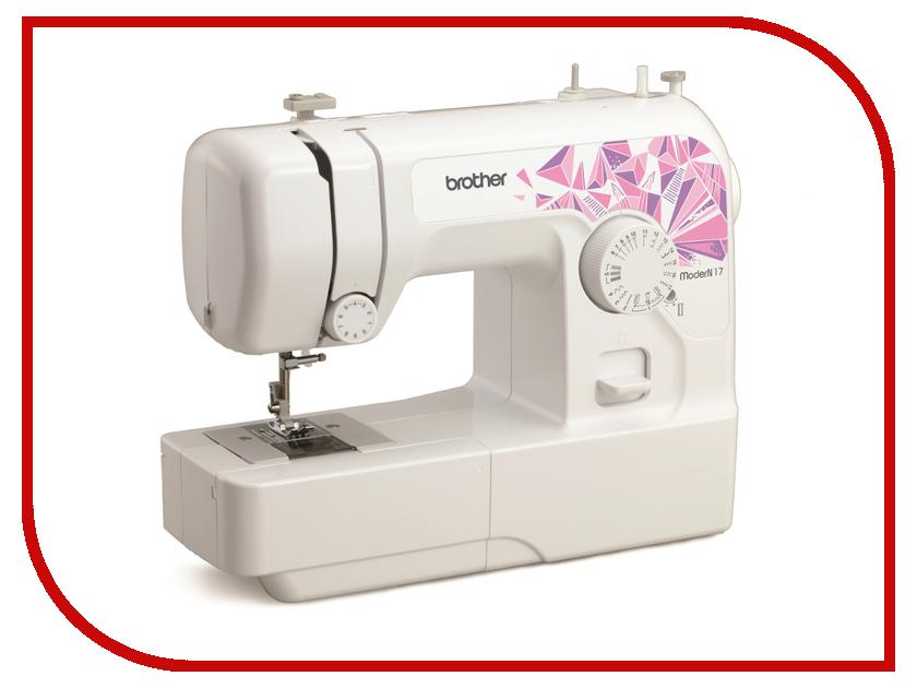 Швейная машинка Brother ModerN 17 швейная машинка astralux 7350 pro series вышивальный блок ems700