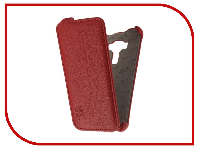 Аксессуар Чехол ASUS ZenFone 3 ZE520KL Aksberry Red аксессуар чехол накладка asus zenfone c zc451cg cherry black 8270