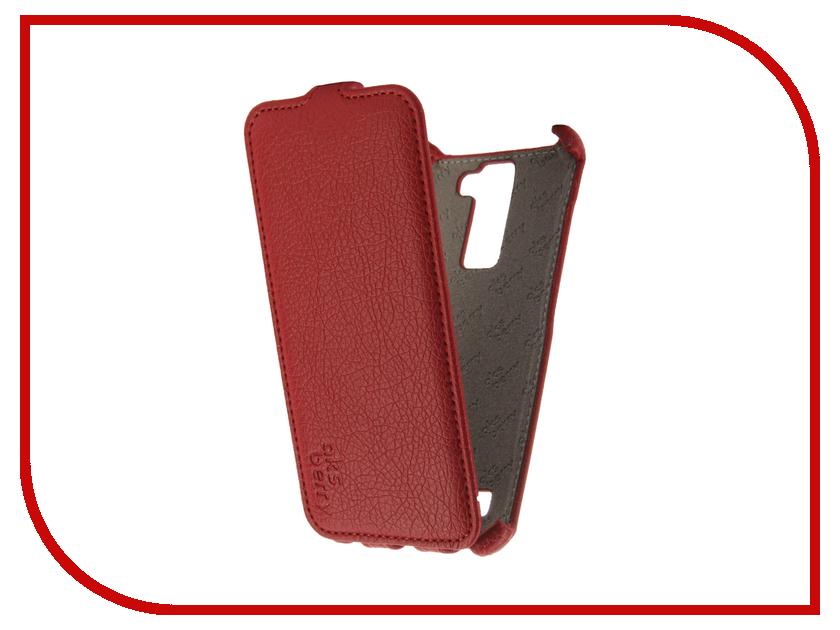 купить Аксессуар Чехол LG K350E K8 4G Aksberry Red онлайн