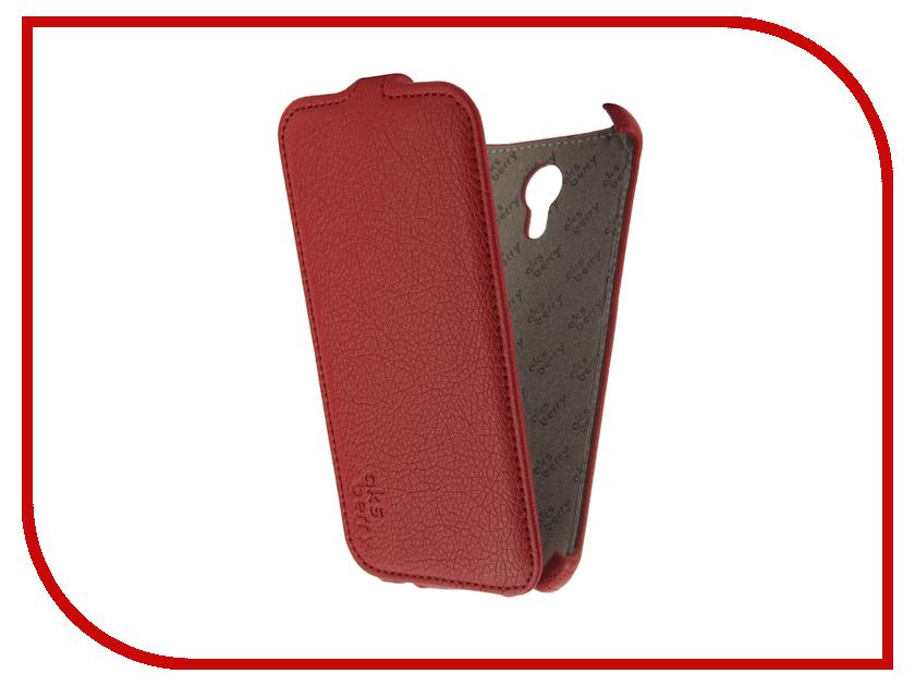 Аксессуар Чехол Meizu M3 Note Aksberry Red