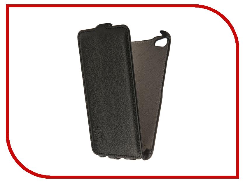 Аксессуар Чехол для Meizu U20 Aksberry Black тотем цветы дизайн кожа pu откидная крышка бумажника карты держатель чехол для asus zenfone5