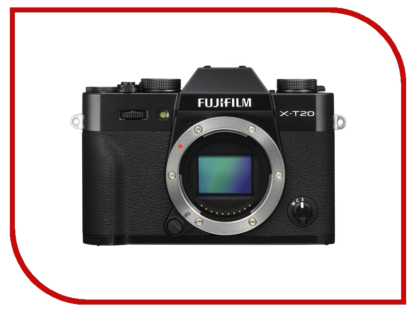 Фотоаппарат FujiFilm X-T20 Body Black радиатор отопления royal thermo biliner 500 new noir sable 6 секц