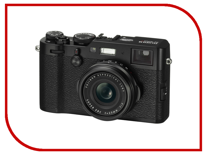 Фотоаппарат FujiFilm X100F fujifilm x t2 body black