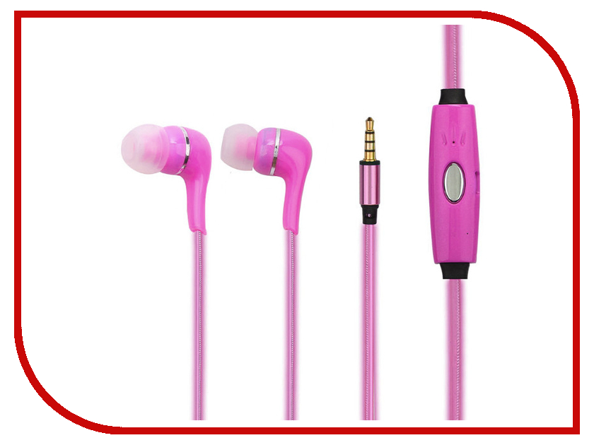 Гарнитура Sapfire Mobile SAM-0906 Pink<br>