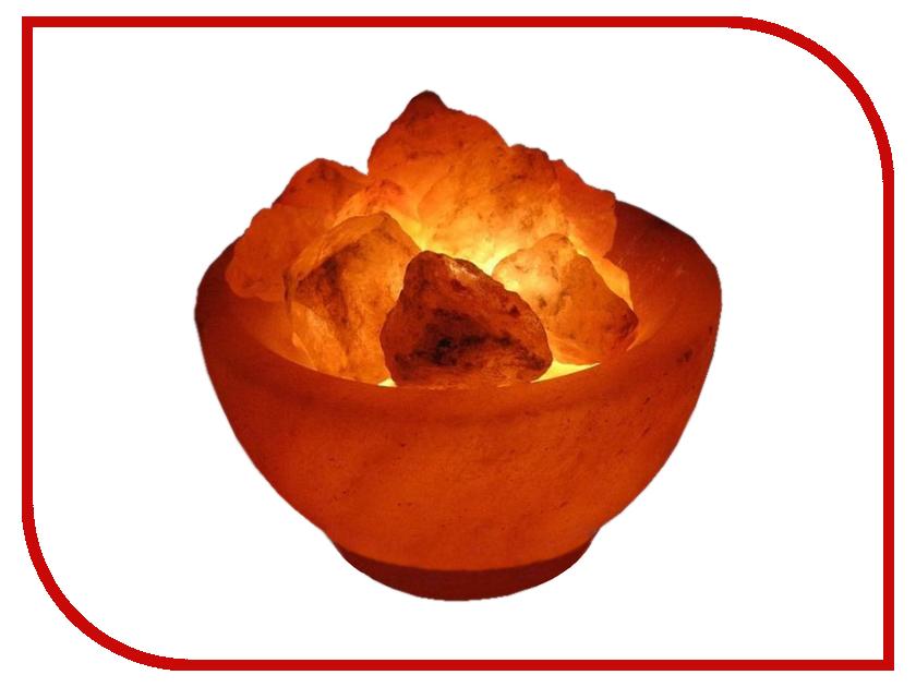 Солевая лампа Wonder Life Огненная Ваза 2-2.5кг SLL-12056Д-БР