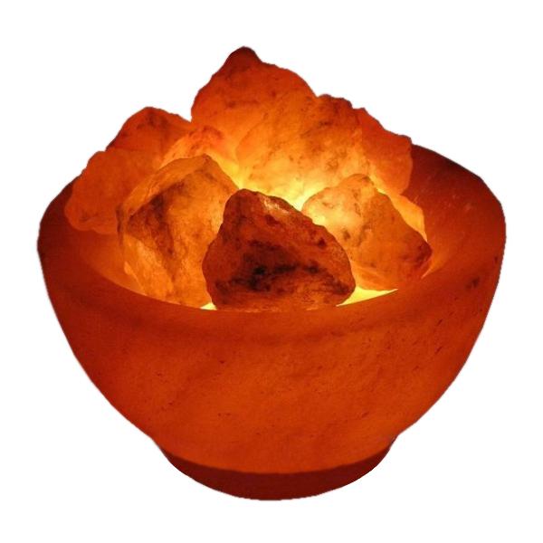 Солевая лампа Wonder Life Огненная Ваза 2-2.5кг SLL-12056Д-БР фото
