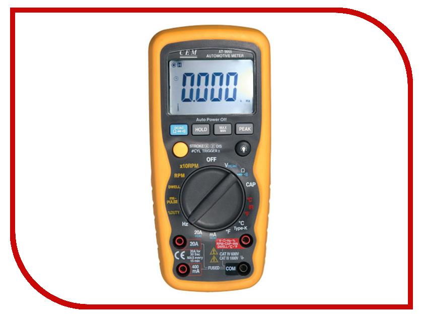 Мультиметр CEM AT-9955  профессиональный автомобильный мультиметр сем at 9995e 481547