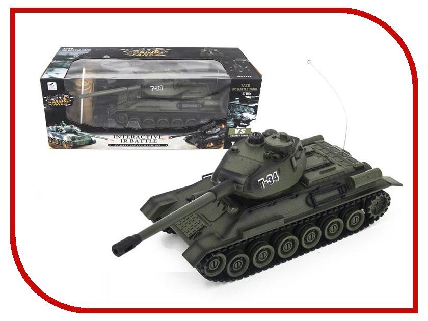 Радиоуправляемая игрушка Zegan Т-34 99809<br>