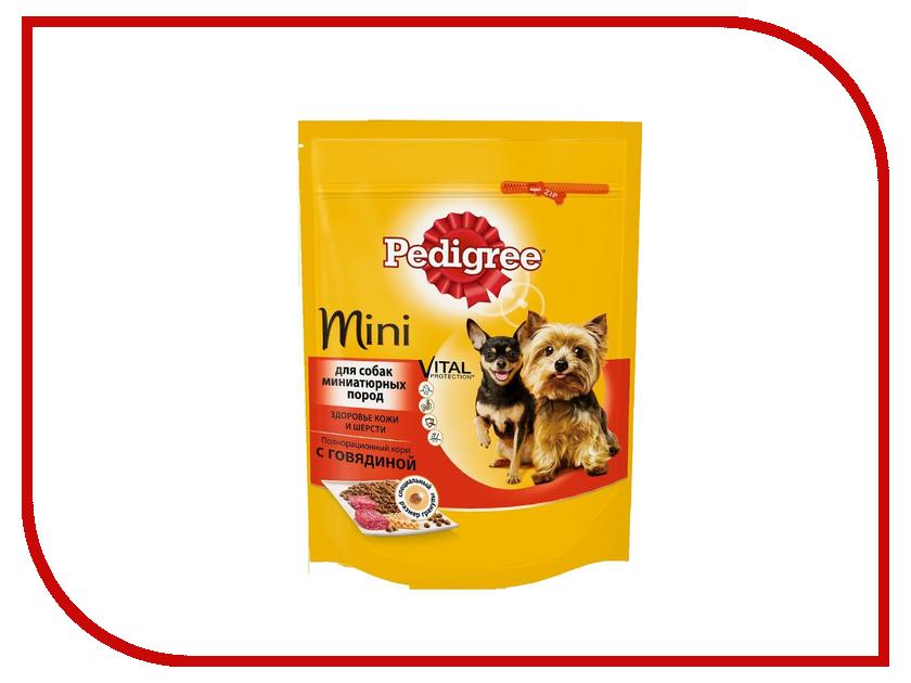 Корм Pedigree Говядина 190g для взрослых собак мелких пород 10135484 корм eukanuba dog для взрослых собак мелких пород 800 г