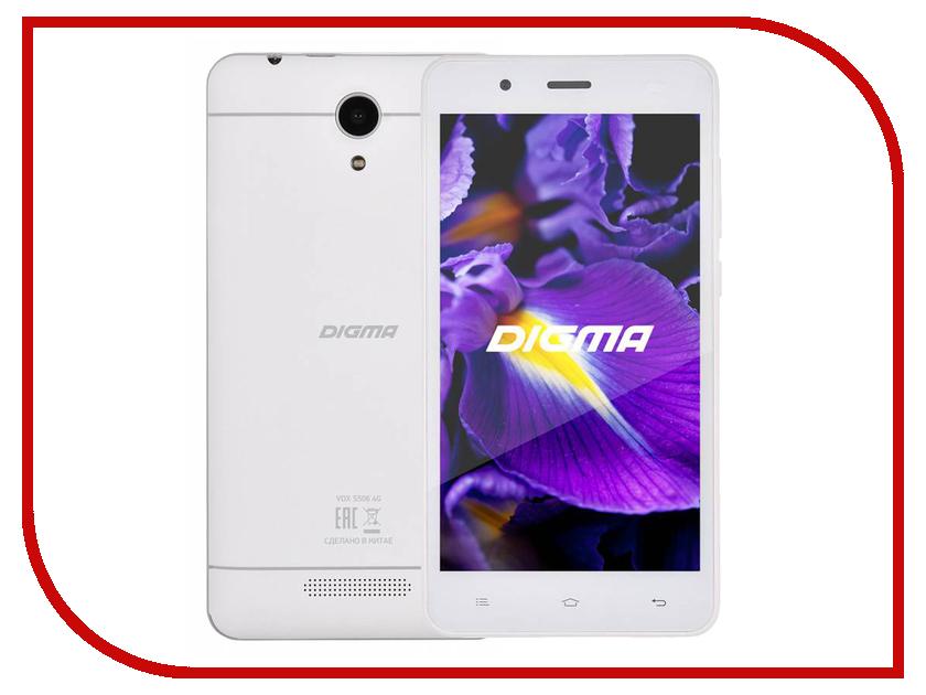 Сотовый телефон Digma VOX S506 4G White смартфоны digma смартфон s501 3g vox белый