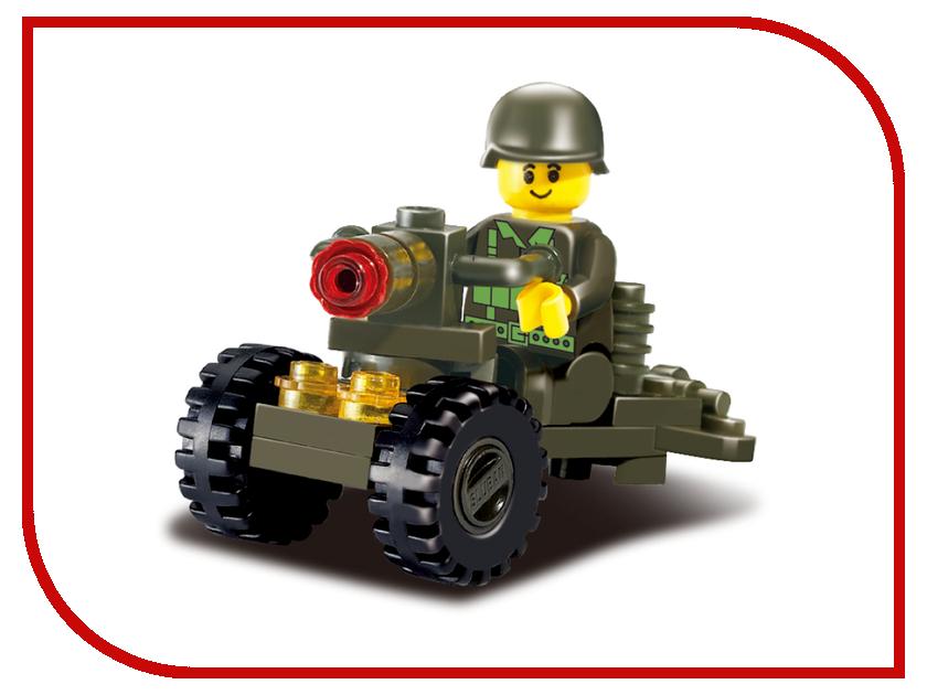 Игрушка Конструктор Sluban Сухопутные войска 24 дет. M38-B0118