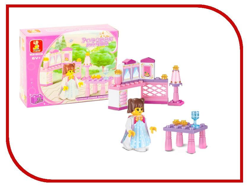 Игрушка Конструктор Sluban Аксессуары для принцессы 35 дет. M38-B0238