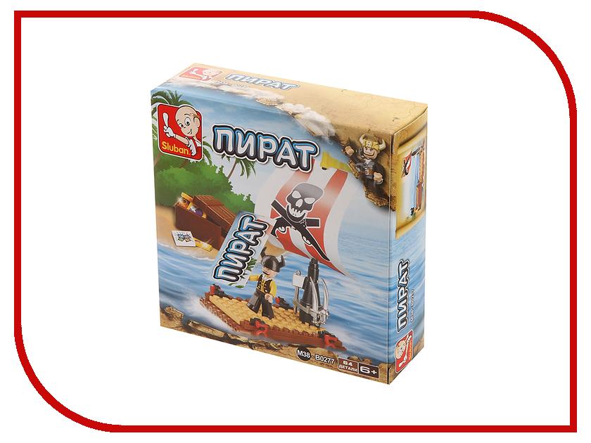 Конструктор Sluban Пираты карибского моря 64 дет. M38-B0277 фигурки игрушки playmobil друзья пираты карибского моря