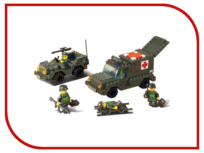 Игрушка Конструктор Sluban Сухопутные войска 229 дет. M38-B6000<br>
