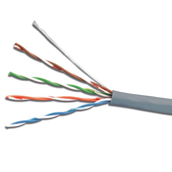 Сетевой кабель 5bites UTP / SOLID 5E 24AWG CCA PVC 305m US5505-305A