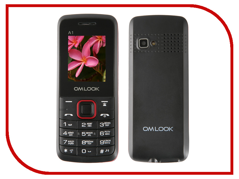 Сотовый телефон Omlook A1 Black