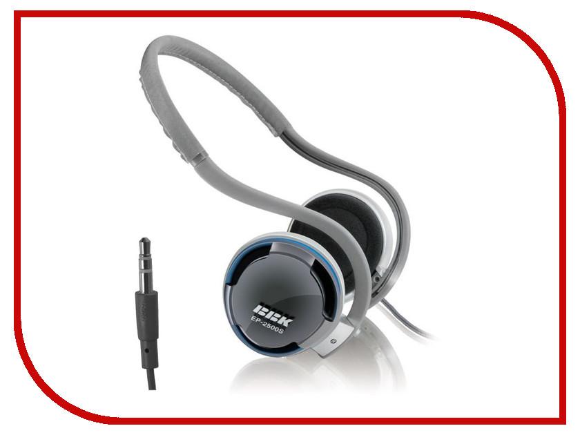 Наушники BBK EP-2500S Grey<br>