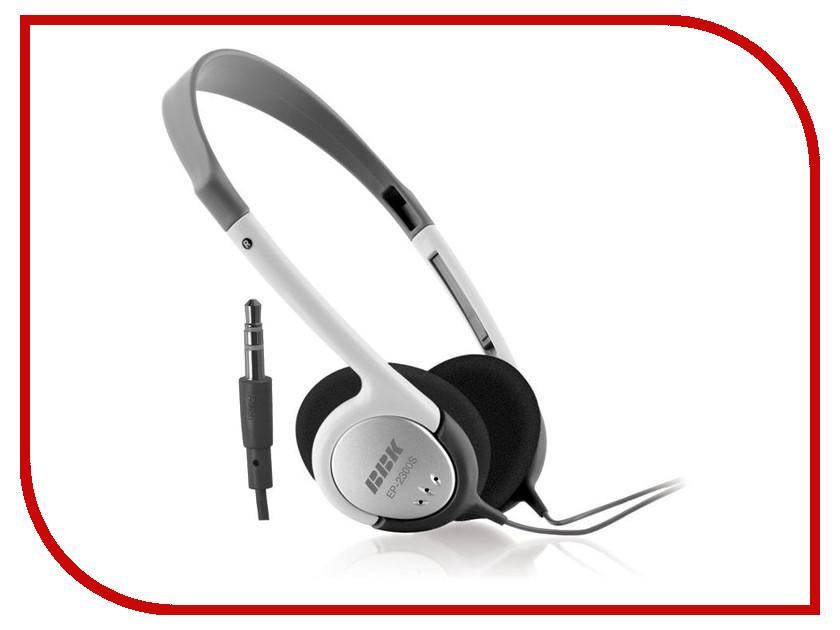 Наушники BBK EP-2300S Grey bbk smp123hdt2 dark grey