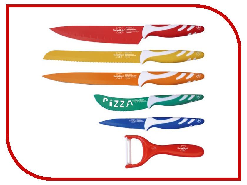 Набор ножей Swiss Gold SG-9202<br>