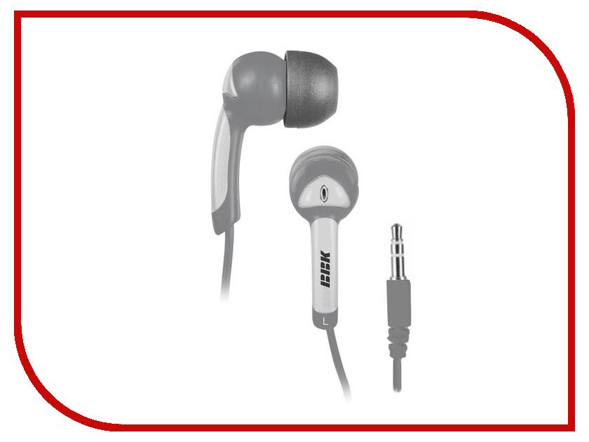 Наушники BBK EP-1401S Grey