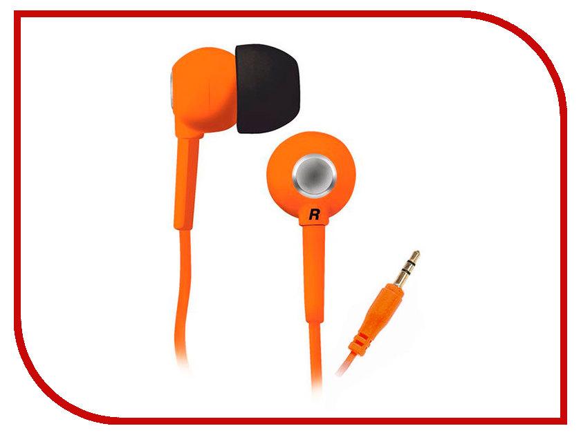 Наушники BBK EP-1200S Orange проводные наушники bbk ep 1401s white