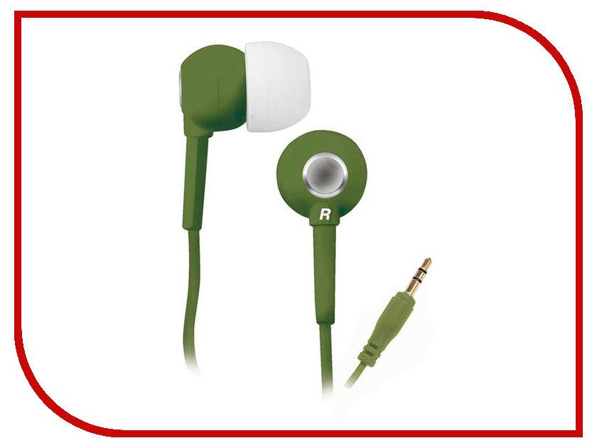 Наушники BBK EP-1200S Olive проводные наушники bbk ep 1401s white