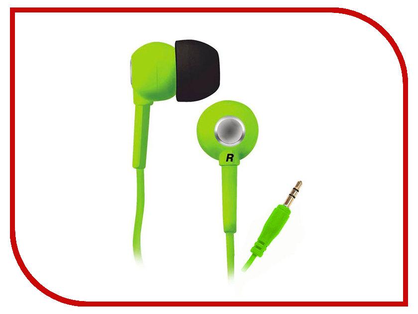 Наушники BBK EP-1200S Green проводные наушники bbk ep 1401s white
