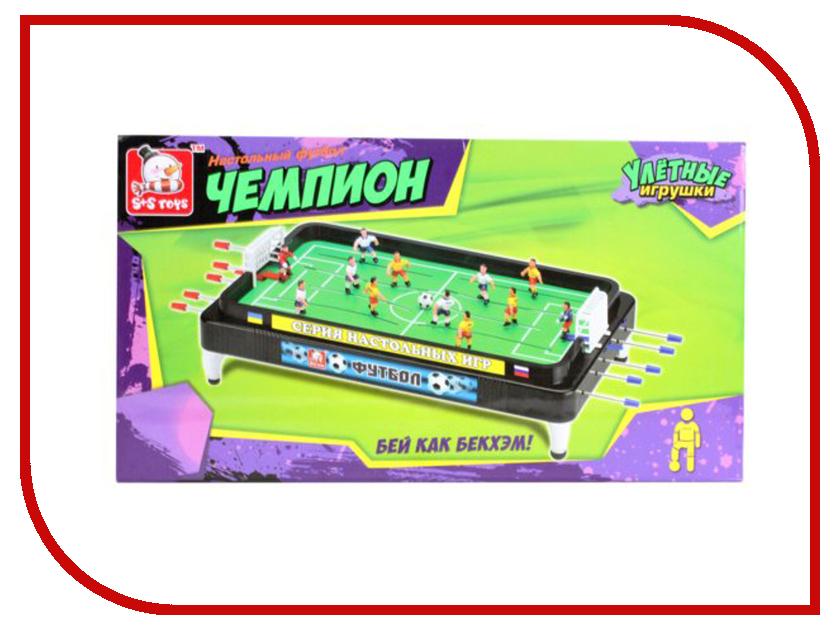 Настольная игра S+S toys Футбол 100166817 игра s s toys набор инструменты 96972