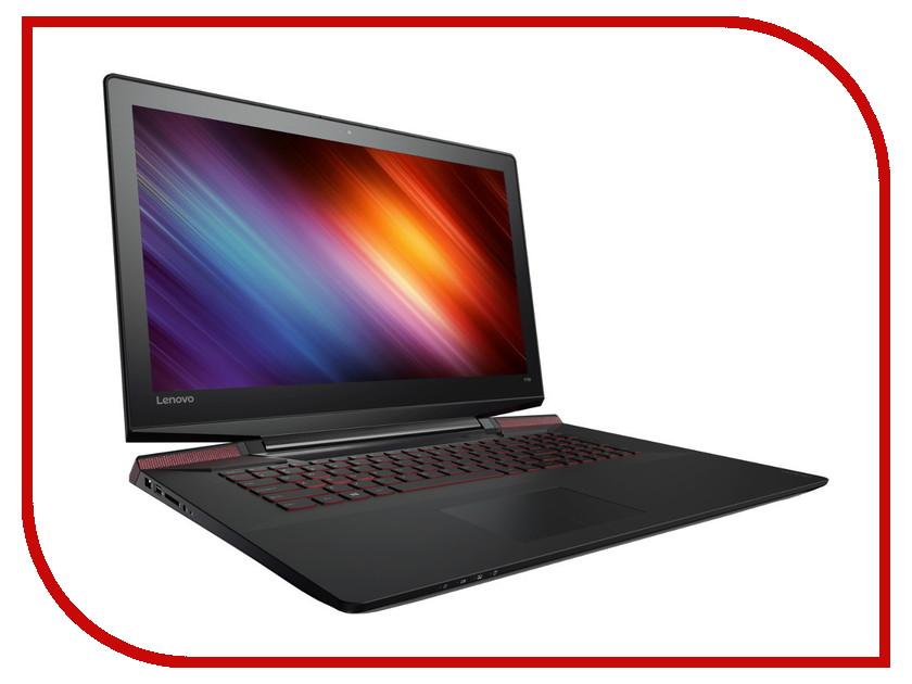Ноутбук Lenovo IdeaPad Y700-17ISK 80Q0001CRK (Intel Core i7-6700HQ 2.6 GHz/8192Mb/1000Gb + 128Gb SSD/nVidia GeForce GTX 960M 4096Mb/Wi-Fi/Cam/17.3/1920x1080/DOS)<br>