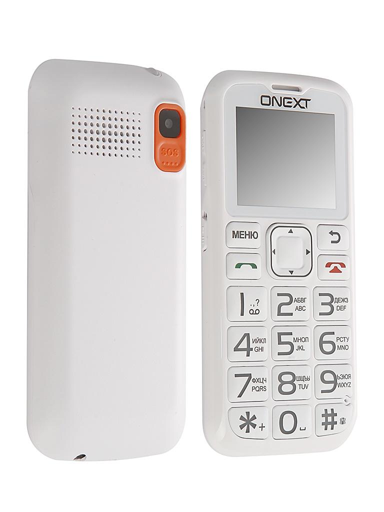 Сотовый телефон Onext Care-Phone 5 White 71125