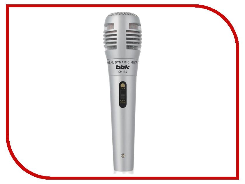 Микрофон BBK CM114 Silver