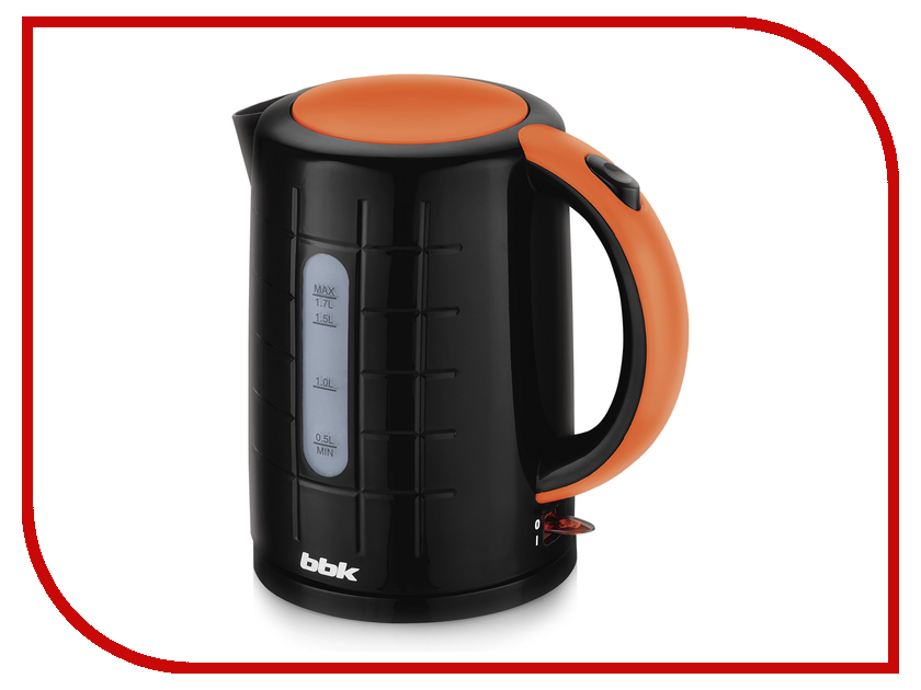 Чайник BBK EK1703P Black-Orange<br>