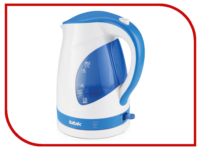 Чайник BBK EK1700P White-Light Blue цены