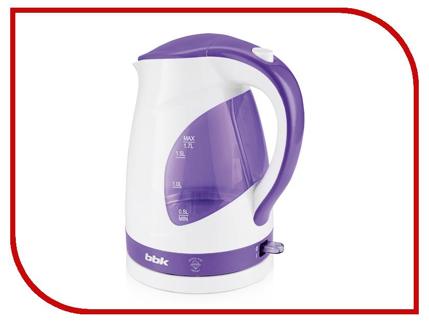 Чайник BBK EK1700P White-Purple dv314s bbk цена